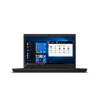 "Лаптоп Lenovo ThinkPad P15v Gen 1 (20TQ0046BM), шестядрен Comet Lake Intel Core i7-10750H 2.6/5.0 GHz, 15.6"" (39.62 cm) Full HD IPS Anti-Glare Display & Quadro P620 4GB, (HDMI), 16GB DDR4, 512GB SSD, 1x Thunderbolt 3, Windows 10 Pro  image"
