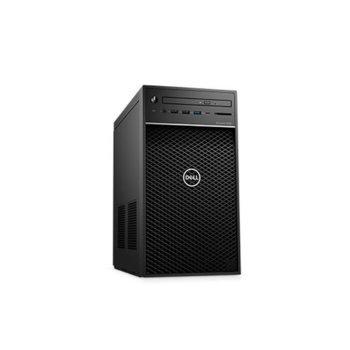 Настолен компютър Dell Precision 3630 Tower (#DELL02549), осемядрен Coffee Lake Intel Core i7-9700 3.0/4.7 GHz, Nvidia Quadro P2200 5GB, 16GB DDR4, 512GB SSD & 1TB HDD, 5x USB 3.1, Windows 10 Pro image