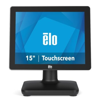 "Тъч компютър Elo E931330 EPS15S2-2UWB-1-MT-4G-1S-NO-00-BK, четириядрен Gemini Lake Intel Celeron J4105 1.5/2.5 GHz, 15"" (38.1 cm) HD Anti-Glare Touchscreen Display, 4GB DDR4, 128GB SSD, 3x USB 3.0, No OS  image"
