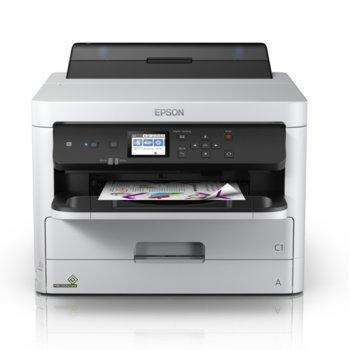 Мастилоструен принтер Epson WorkForce Pro WF-C5290DW, цветен, 4800 x 1200 dpi, 34 стр/мин, USB, Wi-Fi/Direct, LAN10/100/1000 Base-T, двустранен печат, A4 image