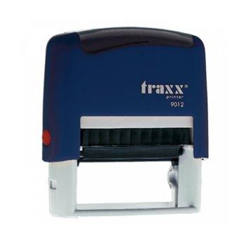 Автоматичен печат Traxx 9012 син, 48/18 mm, правоъгълен image