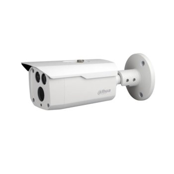 "HDCVI камера Dahua HAC-HFW1500D-0360B, насочена ""bullet"" камера, 5MP (2592×1944@30fps), 3.6 mm обектив, IR осветление (до 80m), външна IP67 image"