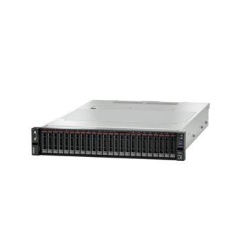 Сървър Lenovo ThinkSystem SR655 (7Z01A04AEA), осемядрен AMD EPYC 7252F 2.8GHz, 32GB DDR4 RDIMM, без твърд диск, 1x 1GbE LOM, 3x USB 3.1, без ОС, 1x 750 W image