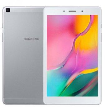 "Таблет Samsung SM-T290 TAB A Wi-Fi(2019)(SM-T290NZSAXNZ)(сребрист), 8.0"" (20.32 cm) WXGA дисплей, четириядрен 2.00 GHz, 2GB RAM, 32GB Flash памет (+ microSD слот), 8.0 MPix & 2.0 MPix камера, Android, 345 g image"