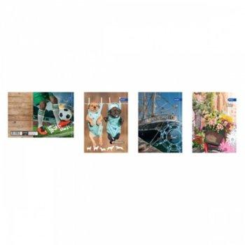 Тетрадка Spree Style, формат А4, офсетова хартия, 40 листа, телчета image