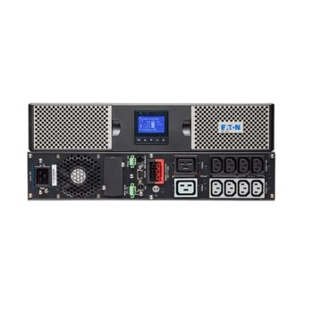 UPS Eaton 9PX 9PX1500IRT2U, 1000VA/1000W, LCD дисплей, On-line double conversion, PFC, USB, RS232, Rack/Tower image