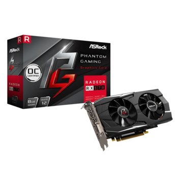 Видео карта AMD Radeon RX570,8GB, ASRock Phantom Gaming D OC, PCI-E 3.0, GDDR5, 256 bit, 3x DisplayPort, 1x HDMI, 1x DVI image