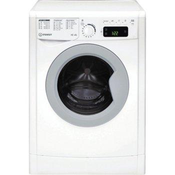 Пералня със сушилня Indesit EWDE 761483 WS EE N, A, 7kg, 1400 обороти в мин., 11 програми на пране, 5 програми на сушене, свободностояща, 60см ширина, лесно гладене image