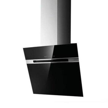 Абсорбатор Elica Stripe Black 60, за вграждане, енергиен клас C, 300W, въздухопоток 757 m³/h, 2 мотора, черен image