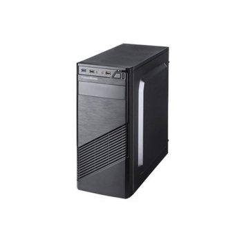 Кутия TrendSonic FC-F61A, ATX, 1x USB 3.0, черна, 550W захранване image