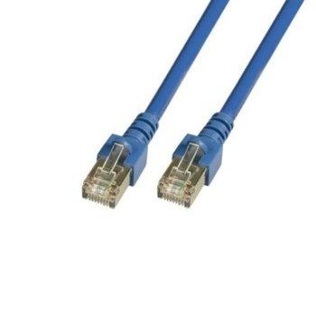 Пач кабел EFB K5459.1.5, SFTP, cat.6, 1.5m, син image