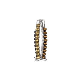 """Стойка Xavax """"Torre"""", за Nespresso, 40 капсули, метална image"""
