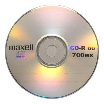 Оптичен носител CD-R media 700MB MAXELL image