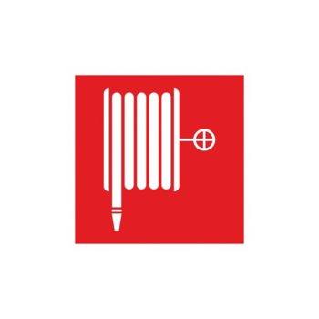 """Самозалепващ знак """"Пожарен кран"""", с два начина на залепване image"""