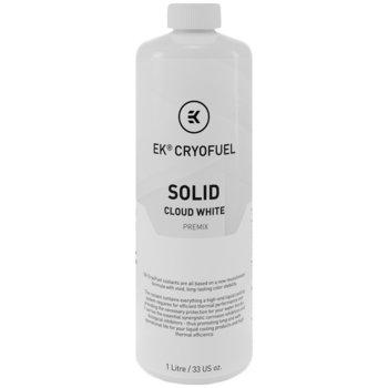 Течност за водно охлаждане Ekwb EK-CryoFuel Solid Cloud White Premix, 1000ml, бяла image