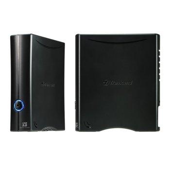 """Твърд диск 4TB Transcend StoreJet 35T3, външен, 3.5"""" (8.9 cm), USB3.0 image"""