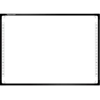 Интерактивна дъска IQ Board DVTQK TN100JFXKWM, 100″ (254 cm) Full HD 16:10 мултитъч дисплей, 32768×32768, на стена, на стойка, инфраред камера, без електронна писалка image