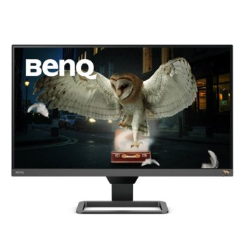 "Монитор BenQ EW2780Q (9H.LJCLA.TBE), 27"" (68.58 cm) IPS панел, 2K QHD, 5ms, 20,000,000 : 1, 350 cd/m2, DisplayPort, HDMI image"