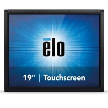 """Монитор ELO E330817, 19""""(48.26 cm), TN тъч панел, SXGA, 5ms, 1000:1, 225cd/m2, VGA, DisplayPort, HDMI, RS232, черен image"""