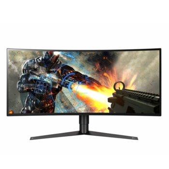 """Монитор LG 34GK950G-B, 34"""" (86.36 cm) IPS панел, QHD, 5ms, 1 000:1, 400cd/m2, DisplayPort, HDMI, 3x USB 3.0 image"""