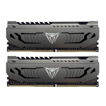 Памет 64GB (2x 32GB) DDR4 3200MHz, Patriot Viper Steel PVS464G320C6K, 1.35V image