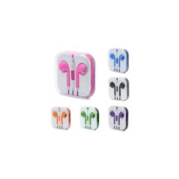 Слушалки за Iphone, различни цветове, микрофон image