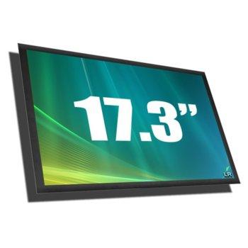 """Матрица за лаптоп Chi Mei N173FGE-L23, 17.3"""" (43.94cm) HD+ 1600 x 900 pix., гланц image"""