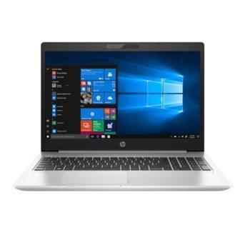 "Лаптоп HP ProBook 450 G6 (7DE03EA)(сребрист), четириядрен Whiskey Lake Intel Core i5-8265U 1.6/3.9 GHz, 15.6"" (39.62 cm) Full HD Display, (HDMI), 16GB DDR4, 512GB SSD, 1x USB Type-C, Windows 10 Pro, 2.00 kg image"