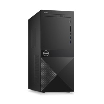 Настолен компютър Dell Vostro 3671 MT (N113VD3671EMEA01_R2005_22NM), шестядрен Coffee Lake Intel Core i5-9400 2.9/4.1 GHz, 8GB DDR4, 1TB HDD, 2x USB 3.1 Gen 1, клавиатура и мишка, Windows 10 Pro  image