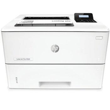 Лазерен принтер HP LaserJet Pro M501dn, монохромен, 4800 x 600 dpi, 45 стр/мин, USB image