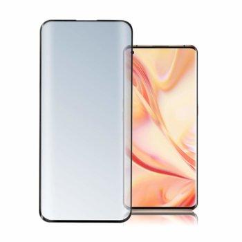Протектор от закалено стъкло /Tempered Glass/, 4smarts, за Oppo Find X2 Pro, прозрачен-черен image
