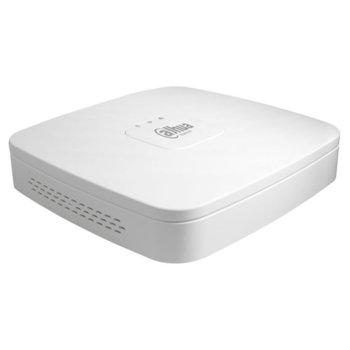 Хибриден видеорекордер Dahua NVR4104-4KS2, 4 канала, H.265/H.264, 1x SATA, 2x USB, 1x RJ-45, 1x RCA, 1x HDMI, 1x VGA image