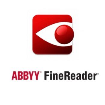 Софтуер ABBYY FineReader 15 Corporate, Single User License (ESD), Perpetual, за 1 потребителя image