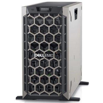 Сървър Dell PowerEdge T440 (PET440CEEM01), осемядрен Intel Xeon Silver 4208 2.10 GHz, 16GB RDIMM DDR4, 1x 600GB HDD, 2x GbE LOM, без OS, 1+1 750W image