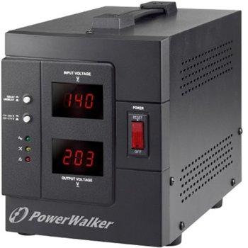 Стабилизатор PowerWalker AVR 2000 SIV, 2000 VA/ 1600 W, 2x шуко изхода, 230 VAC image