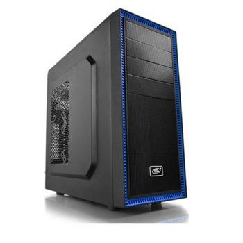 Кутия DeepCool TESSERACT BF, ATX/MICRO ATX/MINI-ITX, USB 3.0, черна, без захранване image