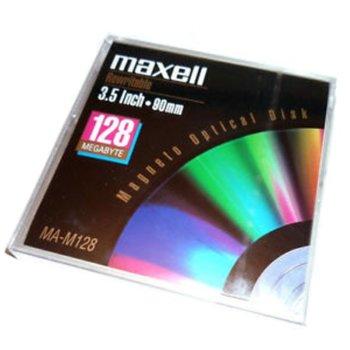 МАГНИТО - ОПТИЧЕН ДИСК MAXELL 128 MB - 512 b/s image