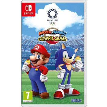 Mario and Sonic Olympic Games Tokyo 2020 Switch product