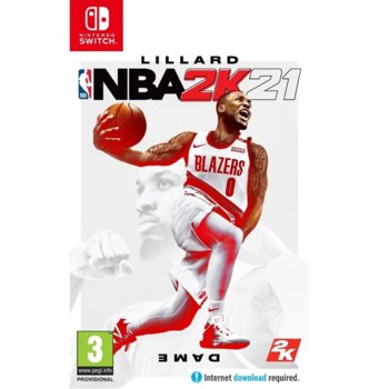 Игра за конзола NBA 2K21, за Nintendo Switch image