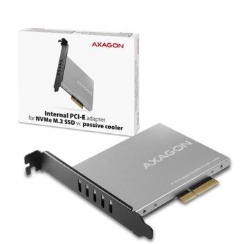 Контролер AXAGON PCEM2-NC, от PCIe 4x към M.2 (NVMe) SSD, за 2230/2242/2260/2280 image