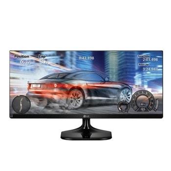 """Монитор LG 25UM58-P, 25"""" (63.50 cm) IPS панел, Ultra Wide HD, 5ms, 1000: 1, 250 cd/m2, HDMI image"""