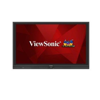 "Дисплей ViewSonic IFP7560, тъч дисплей, 75"" (190.5 cm), Ultra HD, HDMI, VGA, DisplayPort, RS232, USB image"