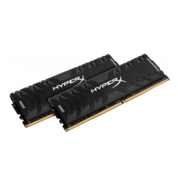 Памет 32GB (2x 16GB) DDR4 2400MHz, Kingston HYPER P, HX424C12PB3K2/32, 1.2V image