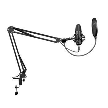 Микрофон Trust GXT 252+ Emita Plus, USB, със стойка, черен image