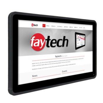 """Индустриален компютър Faytech 1010501721 FT133I5CAPOB, двуядрен Kaby Lake Intel Core i5-7300U 2.6/3.5 GHz, 13.3"""" (33.78 cm) Full HD Touchscreen Display, 8GB DDR4, 128GB SSD, 2x USB 3.0, Linux image"""