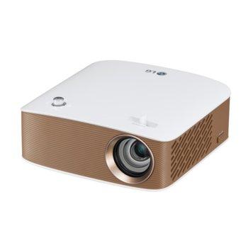 Проектор LG PH150G, LCoS, HD (1280x720), 100,000:1, 130lm, Bluetooth, WiDi, HDMI, USB image