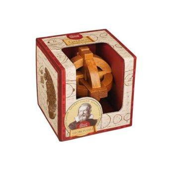 3D пъзел Proffesor Puzzle Great Minds Galileo's Globe, дървен, 12 части, логически image