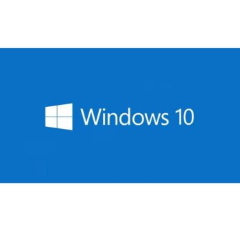 Операционна система Microsoft Windows 10 Pro, 64-bit Английски. 1pk DSP OEM, DVD image
