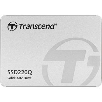 """Памет SSD 1TB, Transcend SSD220Q, SATA 6 Gb/s, 2.5"""" (6.35 cm), скорост на четене 550 MB/s, скорост на запис 500 MB/s image"""