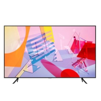 "Телевизор Samsung 43Q60T, 43"" (109.22 cm) 4K Ultra HD Smart QLED TV, DVB-T2CS2, Wi-Fi, Bluetooth, 3x USB 3.0, енергиен клас G image"
